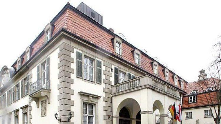 Schlosshotel im Grunewald: die bevorzugte Bleibe der deutschen Nationalmannschaft in Berlin.