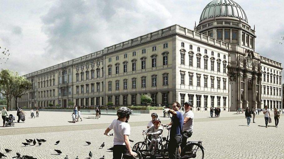 So sieht der siegreiche Entwurf zur Gestaltung des Schlossplatzes aus.