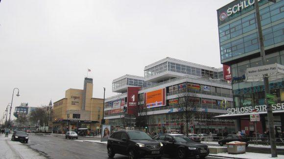 Im Winter nicht ganz so schön: Die Schloßstraße in Berlin-Steglitz.