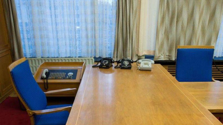 Das Arbeitszimmer von Erich Mielke, dem ehemaligen Minister für Staatssicherheit in der DDR, ist nur ein Highlight der neuen Dauerausstellung in der früheren Stasi-Zentrale.