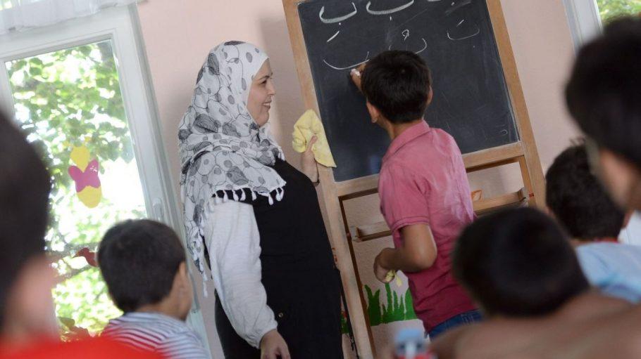 Wie hier in Luckenwalde soll es auch an Berliner Schulen mehr Arabisch-Unterricht geben.