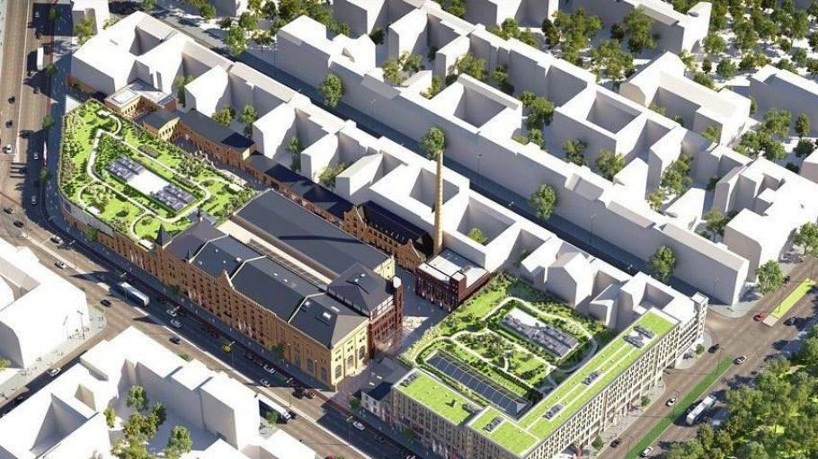 Es grünt so grün: So soll das Schultheiss Quartier einmal von oben aussehen.