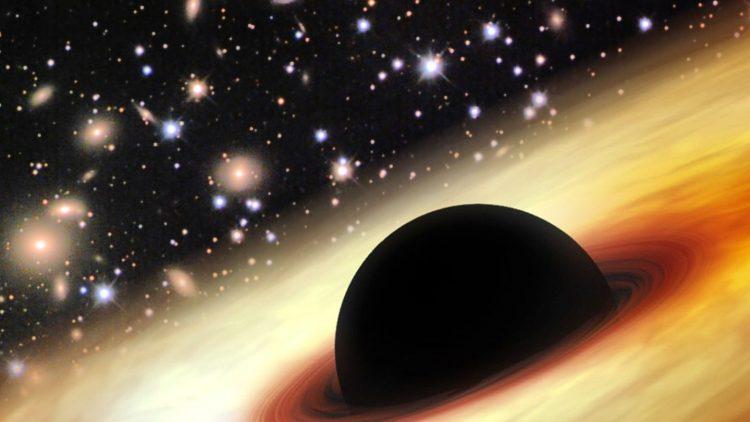 Nicht nur solche schwarzem Löcher kannst du im neuen Zeiss-Großplanetarium fast hautnah erleben.