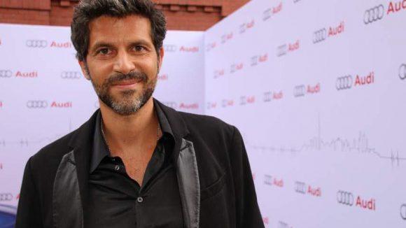 """Der Schweizer Schauspieler Pasquale Aleardi (""""Nachts im Park"""")."""