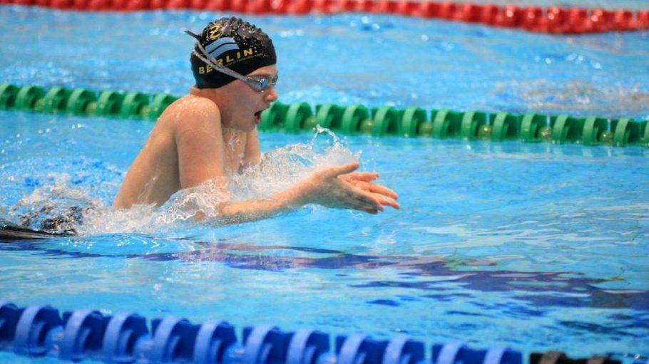 In der Schwimmabteilung des Z88 können Kinder richtig gut und sicher schwimmen lernen.