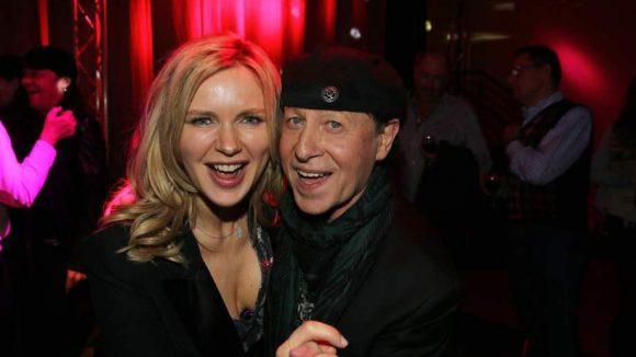 Sänger Klaus Meine amüsierte sich mit Veronika Ferres.