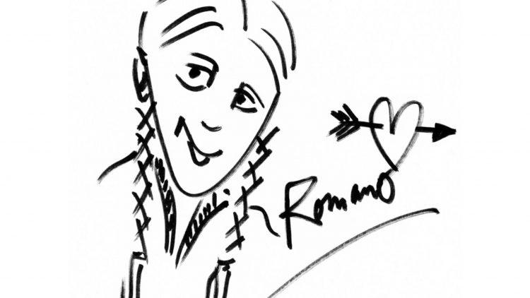 So sieht Rapper Romano sich selbst. Was du über ihn sonst noch wissen musst, liest du im QIEZ-Poesiealbum.
