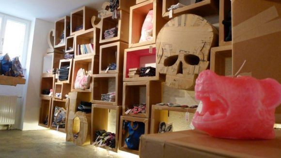 Ein Souvenir-Shop mit Anspruch.