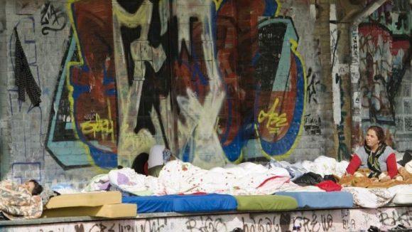 Viele Roma finden keine Wohnung in Berlin.