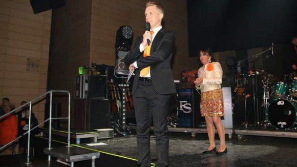 Durch den Sixt-Abend im Atrium-Tower am Potsdamer Platz führte Moderator Oliver Pocher.