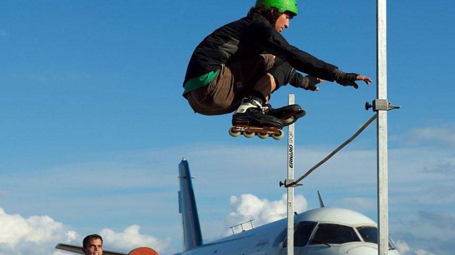 Für Skater wird auf der Berlin Vital viel geboten.