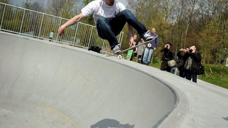 Im Märkischen Viertel können sich Skater bald richtig austoben.