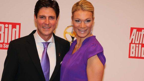 Etliche Sportler dürfen natürlich nicht fehlen, wie etwa die Skirennläuferin Maria Hoefl-Riesch und ihr Mann Marcus Hoefl.
