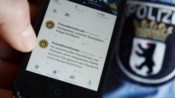 Schon seit 2014 hat die Berliner Polizei einen eigenen Twitter-Account. Jetzt startet der nächste Tweet -Marathon.
