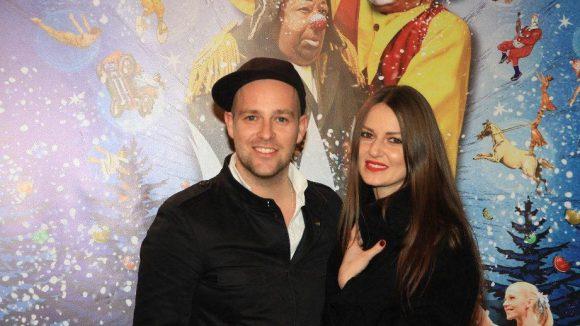 Sänger Ben, auch Mützen-Ben, mit seiner Freundin, der Designerin Ewa Herzog.