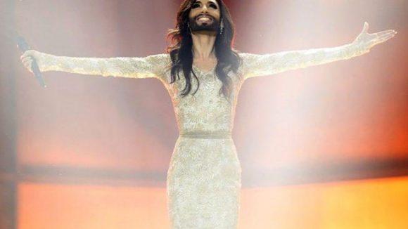 Ein echter Star: Sängerin Conchita Wurst erhält im Rahmen des CSD eine Auszeichung.