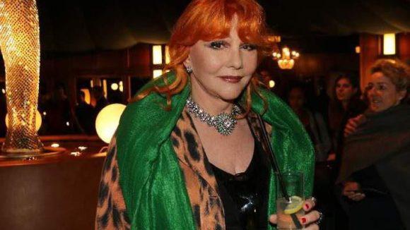 Die Sängerin Romy Haag kam ins Tipi.