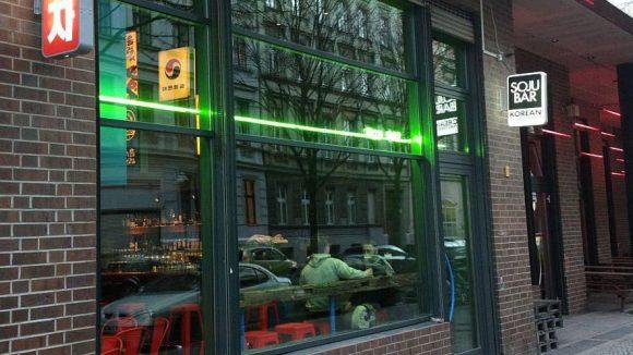 Die Soju Bar in der Manteuffel-/ Ecke Skalitzer Straße liegt direkt neben dem angesagten koreanischen Restaurant Kimchi Princess.