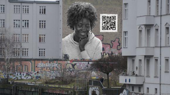 Das Projekt des Fotografen Harald Geil beschäftigt sich mit der Asylproblematik. So könnten Häuserfassaden an öffentlichen Plätzen in Zukunft aussehen.