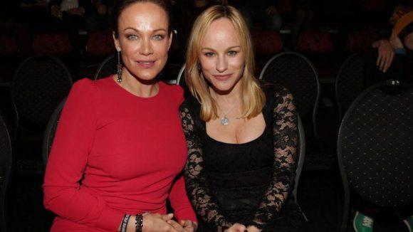 Hochgeschlossen vs. aufgeschlossen: die beiden Schauspielerinnen Sonja Kirchberger und Dorkas Kiefer. Kirchberger war auch Teil der Jury.