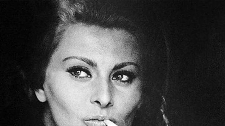 1964 führte Jochen Blume ein Interview mit der schönen Sophia Loren.