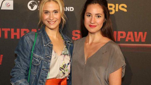 """... die Schauspielerinnen Lea Marlen Woitack (l.) und Elena Garcia Gerlach (""""GZSZ"""") ..."""