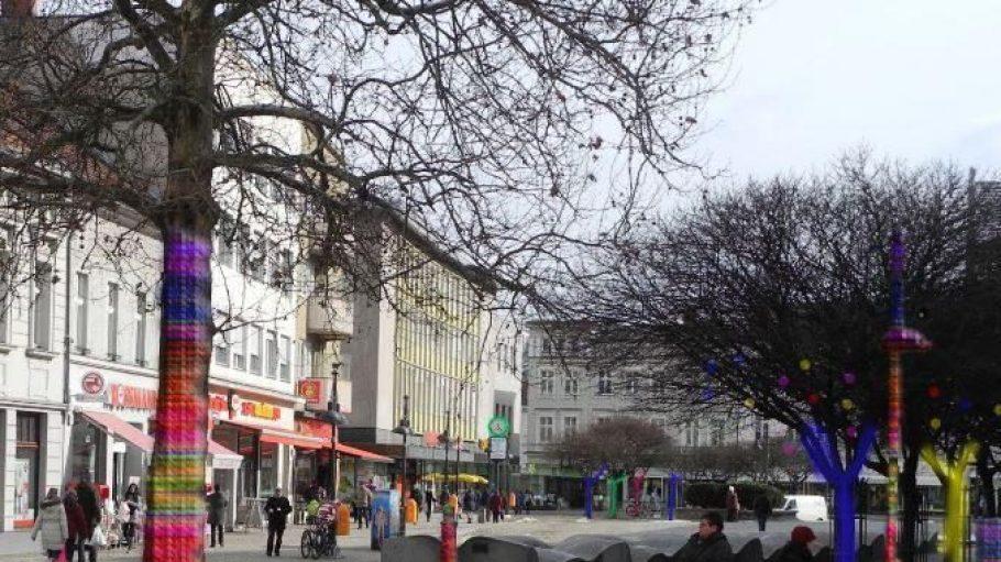 Drei Tage lang wird der Marktplatz in Spandau bunt.