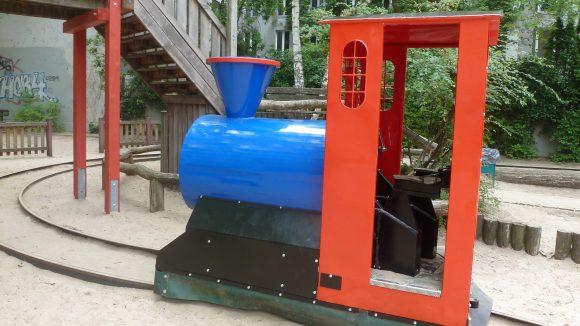 Die Lokomotive Emma ist nun endlich wieder einsatzbereit.