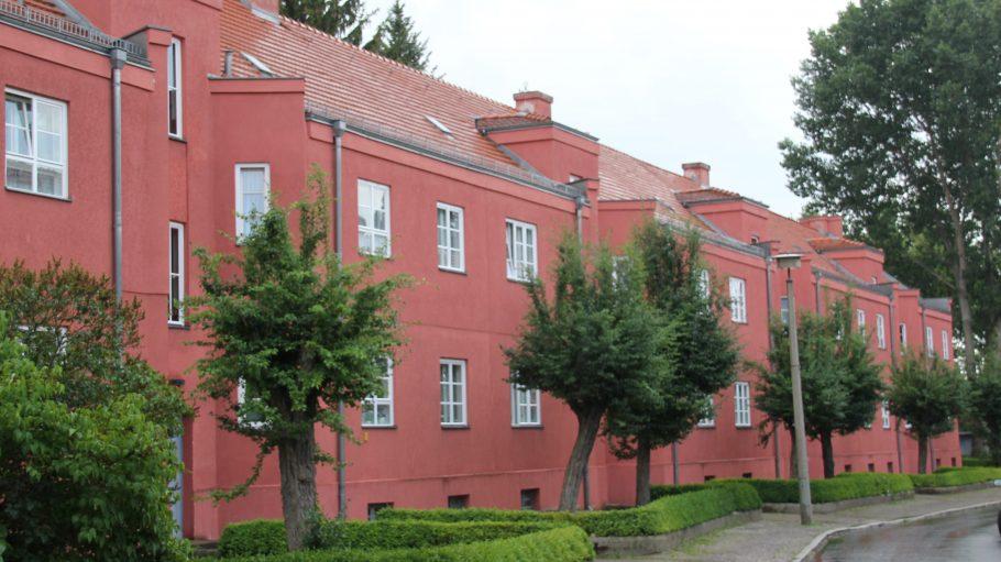 Die Splanemannsiedlung in Lichtenberg.
