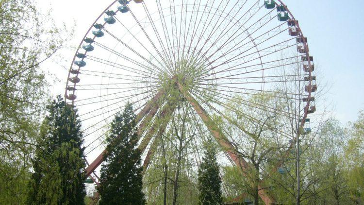Verlassenes Riesenrad im Plänterwald