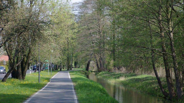 Der Spreeradweg führt immer entlang der - na klar - Spree. Bis an ihre Mündung kommt man jedoch nicht. In Berlin-Mitte ist Schluss. Das will Charlottenburg-Wilmersdorf nun ändern.
