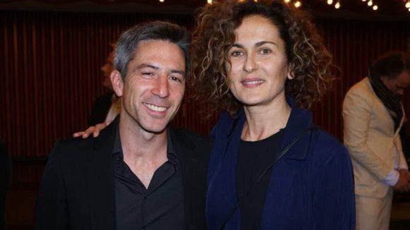 Schauspielerin Marie Lou Sellem mit ihrem Freund Jens Harant.