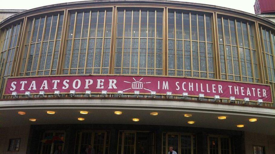 Vorübergehend das Zuhause der Staatsoper: Das Schillertheater in der Nähe des Ernst-Reuter-Platzes.
