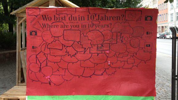 Stadtlabor in Berlin Mitte, Brunnenstraße (Weinbergpark).