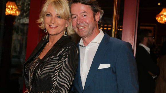 Ulla Kock am Brink mit Partner Peter Fissenewert.