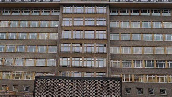 Der Stasi-Komplex an der Normannenstraße steht weitgehend leer. Eine Bibliothek hineinzudenken, kostet allerdings viel Fantasie