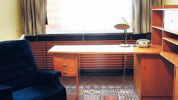 In der Zentrale der Macht. Im Haus 1 war Mielkes Büro. Heute ist dort das Stasi-Museum untergebracht.