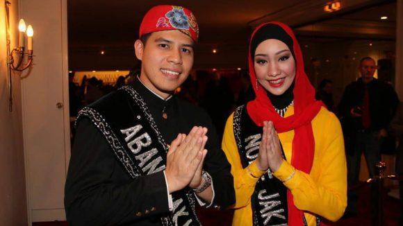 Auch Mister und Miss Jakarta waren dabei.