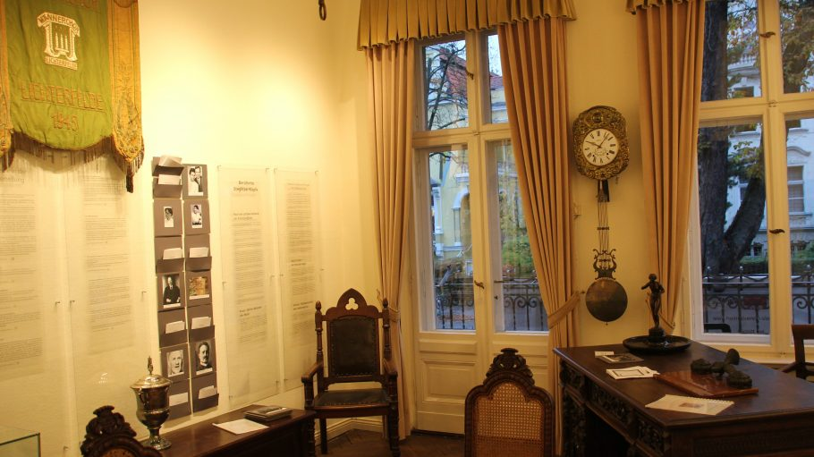 Ineinem Lichterfelder Altbau ist das Steglitz-Museum zu Hause.