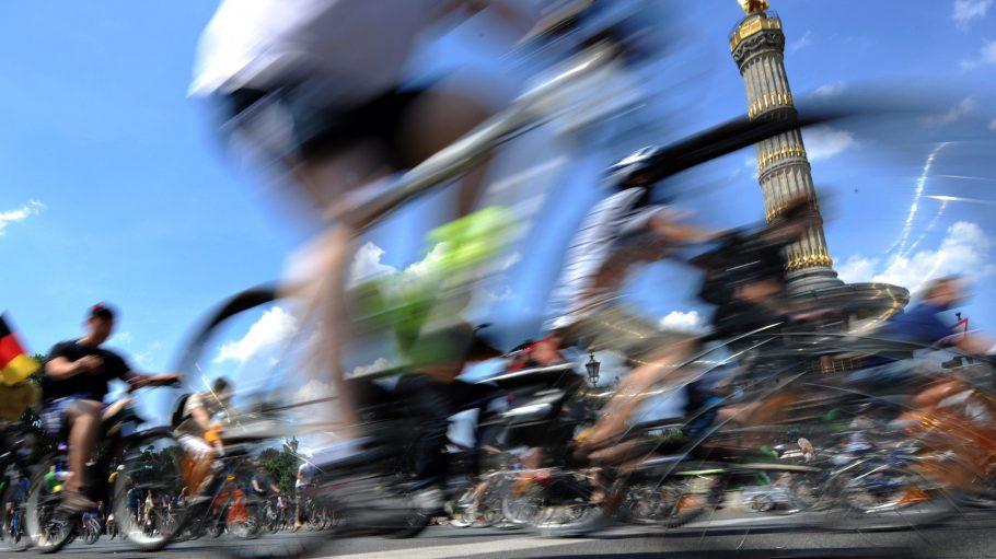 Wenn ich rolle mit meinen Besten! Sonntag kommen wieder über 30.000 Fahrradfahrer zur Sternfahrt in Berlin auf die Straße.