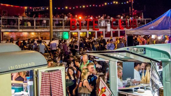 Der Bite Club vereint Street Food und Party in der Arena Treptow.