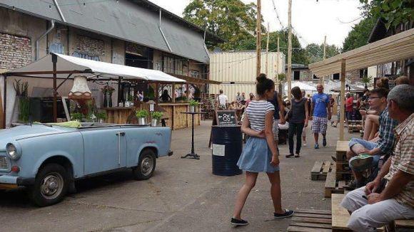 Karibikfeeling beim Village Market: Nach dem Regen - Hitze.