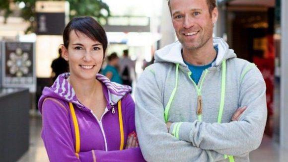 Die Gründer: Eike Sack und Geraldine Schindler.
