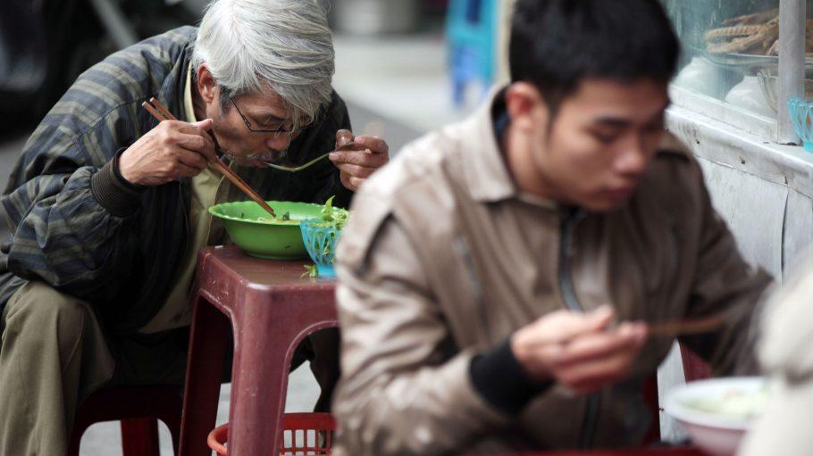 In Asien - und auch in Japan - wird sehr gerne Suppe gegessen.
