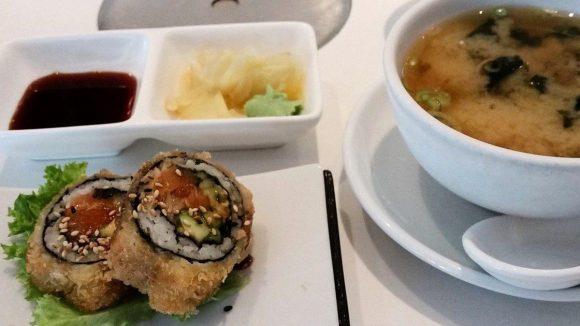Mit dem Mittagsmenü von Mr. Hai Kabuki bekommt man hochwertiges Sushi zum kleinen Preis.