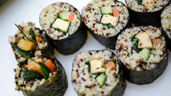 Sushi ist nur ein Teil der japanischen Küche, aber ein sehr beliebter - auch in Berlin-Mitte.