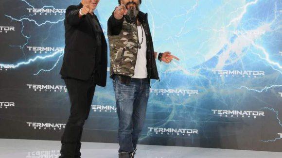 Schauspieler Sven Martinek und DJ Senay Gueler freuen sich scheinbar ebenfalls auf einen 'Suba-Äktschn-Fuilm'.