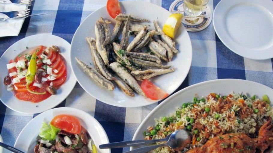 Verlockend: Mittelmeer auf den Tellern.