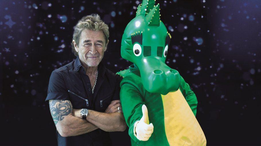 Peter Maffay und sein altersloser grüner Freund Tabaluga stellen heute das neue Album vor.