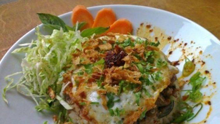 Dieses Reisgericht wie auch alle anderen Speisen bereitet Wirtin Wei-En Chan selbst zu.